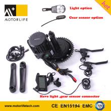 Motor eléctrico de Bafang BBSHD 48v 1000w de Motorlife para la bicicleta