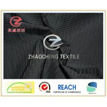 75D Ribstop tecido de memória de forma semi para vestuário (ZCGF103)