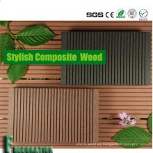Suelo de madera duradero WPC resistente a las grietas de Boardwalk al aire libre