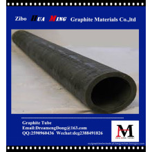 Venda de fábrica de tubo de grafite de alta pureza na China