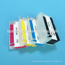 Refillable ink cartridge for HP 711 auto reset chips
