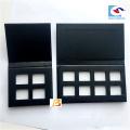 palette d'ombre à paupières noire vide de luxe composent pour l'aimant