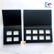 Luxus leere schwarze Lidschatten-Palette machen für Magnet