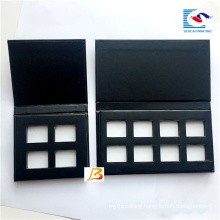 luxury empty black eye shadow palette make up for magnet