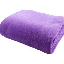 Wholesale Solid Color Polar Fleece Throw Blanket