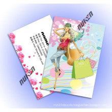 2015 Fashional Plastic Name Cards with Pattern