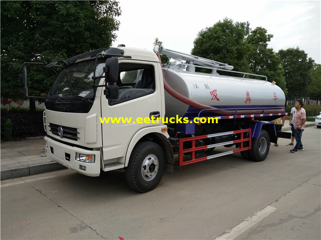 7.2 CBM Septic Tank Trucks