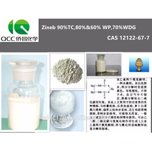 Excellent Fungicide Zineb 90%TC,80%&60% WP,70%WDG,12122-67-7