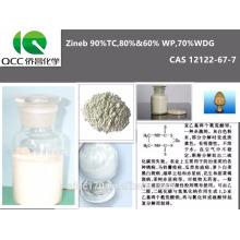 Excelente Fungicida Zineb 90% TC, 80% & 60% WP, 70% WDG, 12122-67-7