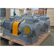 High viscosity heavy oil pump of three screw pumps