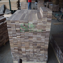 Black Walnut / Juglans Nigra Used on Unfinished Wood Floor