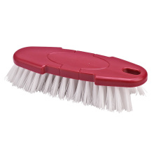 Good Price Plastic Kitchen Flexible Cloth Scrub Brush