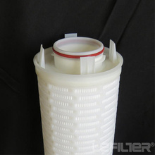 High-precision glass fiber large flow water filter element
