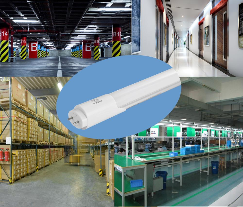 can you replace fluorescent tubes with leds