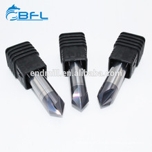 BFL Tool For CNC Tungsten Carbide Chamfer End Mills Customization