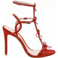 Latest Chengdu Red high heel sandals for girls women and ladies