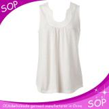 Women sleeveless shirt summer casual blouse new design sleeveless tank tops