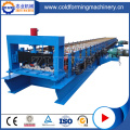 Lantai Baja Decking Tile Roll Forming Machine