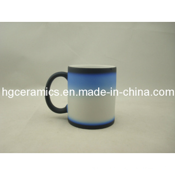 Three -Section Color Change Mug, noir-bleu-blanc