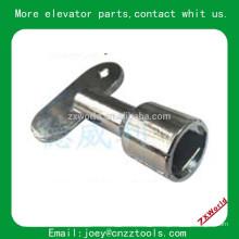 elevator door key lock Elevator parts Hitachi Triangle Lock Key elevator door mechanical lock