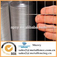 1inch métal soudé grille de treillis métallique treillis métallique galvanisé treillis soudé pour la cage d'animal