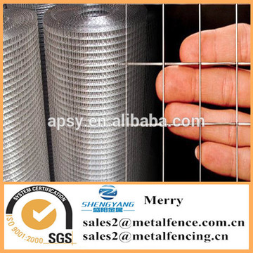 1inch metal welded iron wire grid mesh sheet galvanized welded wire mesh for fencing and animal cage
