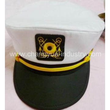 factory embroidery custom sailor cap hat