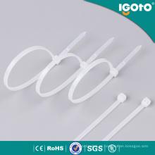 Laço de cabo branco ou preto de 2.5 * de 100mm