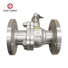 Platform Ball Valve with Flanged Connection