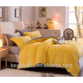 Hoja caliente del edredón de la cama de la franela del invierno colorido de alta calidad BS484