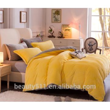 Hochwertige bunte Winter Warm Flanell Bett Bettdecke Blatt BS484