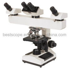 Bestscope BS-2030mh4b Multi-Head Microscope with LED  Illumination