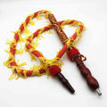 1.8m Red Dragon Hookah Shisha Hose with Wooden Mouthpiece (ES-HH-013-3)