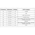 65W Adaptador universal portátil para portátil