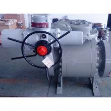 Válvula de bola de acero inoxidable accionada eléctricamente
