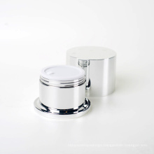 New Design Cylinder Acrylic Cream Jars (EF-J43)