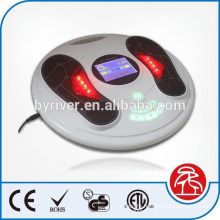 Infrared EMS foot massager with LCD screen