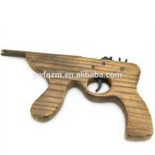 1 # handcraft réplica arma de brinquedo miúdo de madeira