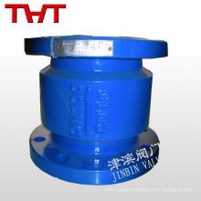 eliminação de ruído flapper de borracha mola carregada válvula de retenção de elevação