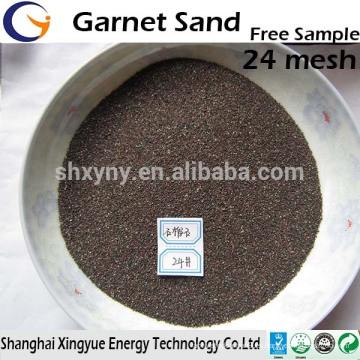 Arenoso granate / granate para corte de chorro de agua 80 Mesh