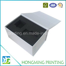 Magnetic Closure Black Foam Insert for Jewelry Box
