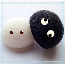 Éponge faciale douce et humide Konjac / éponges de bain pour enfants