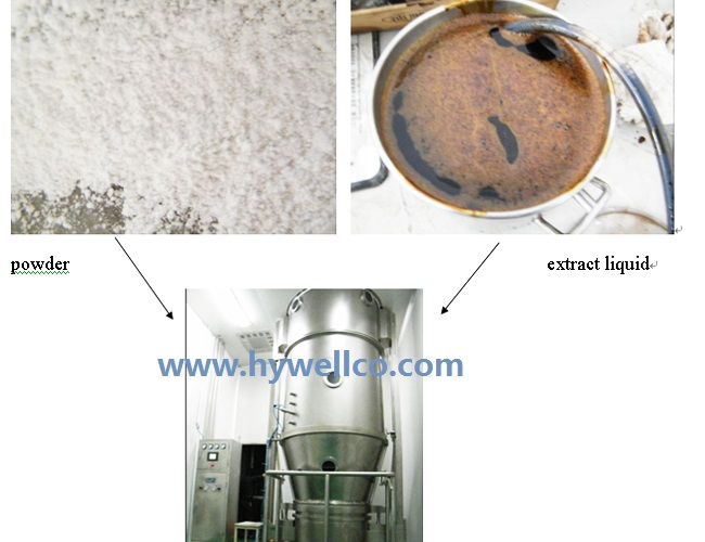 Instant Coffee Granulating Machine