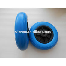 8 inch wheelchair wheel, pu foam wheel, flat free wheel