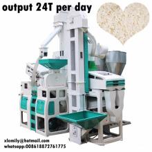 pequeña maquinaria de molienda de arroz para la molienda de arroz