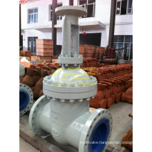 High Pressure Cast Steel Gate Valve Pn64 Dn450