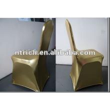 bronzeando a tampa da cadeira de elastano/lycra, tampa da cadeira do spandex metálico