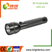 Factory Wholesale 2D cell Powered Aluminum Material Black Color Police Bright Cree Q5 LED Japan Flashlight Torch