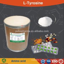 GMP fábrica de suministro de l-tirosina alimentos grado aminoácido