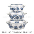 9′′ Pyrex Glass Baking Bowls with Decal Design (GB13G13265-TH)